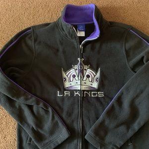Medium la kings zip up